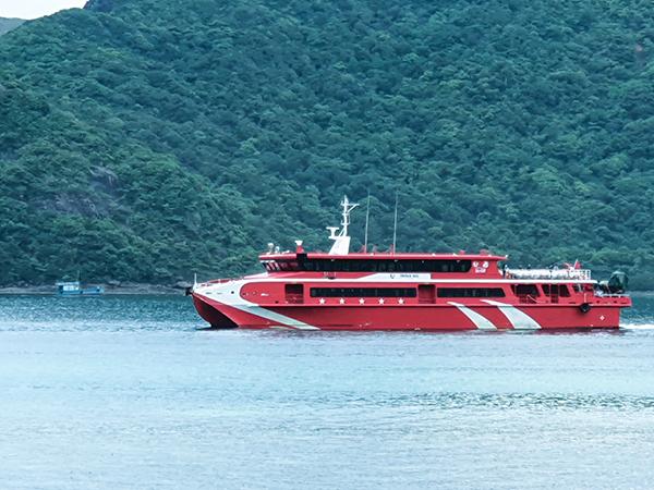 Tàu cao tốc Trần Đề Côn Đảo