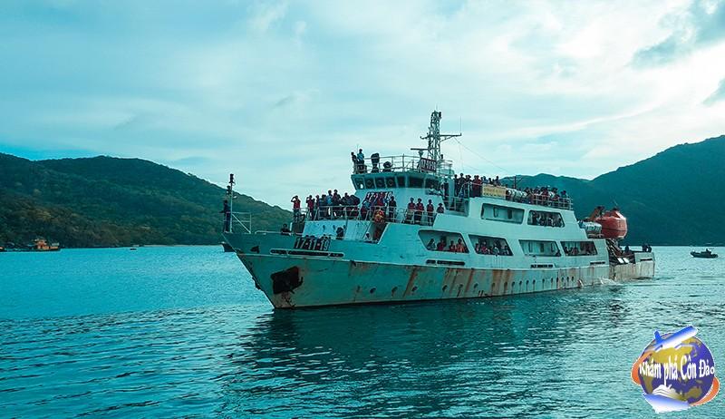 Lịch tàu - Vé tàu Côn Đảo tháng 5 năm 2017