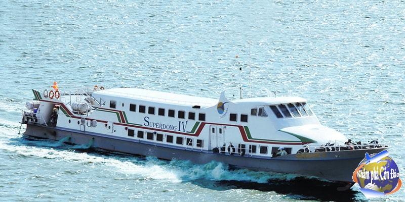 Tàu cao tốc SuperDong Côn Đảo