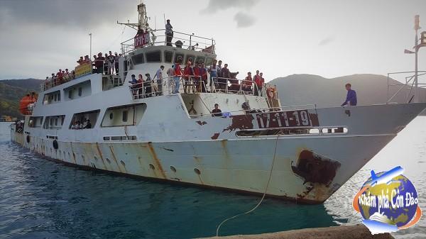 Lịch tàu - Vé tàu CQ03 tuyến Côn Đảo tháng 7 năm 2017