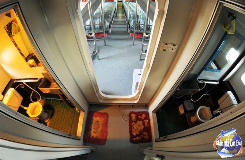 Kết quả hình ảnh cho Nhà vệ sinh trên tàu superdong